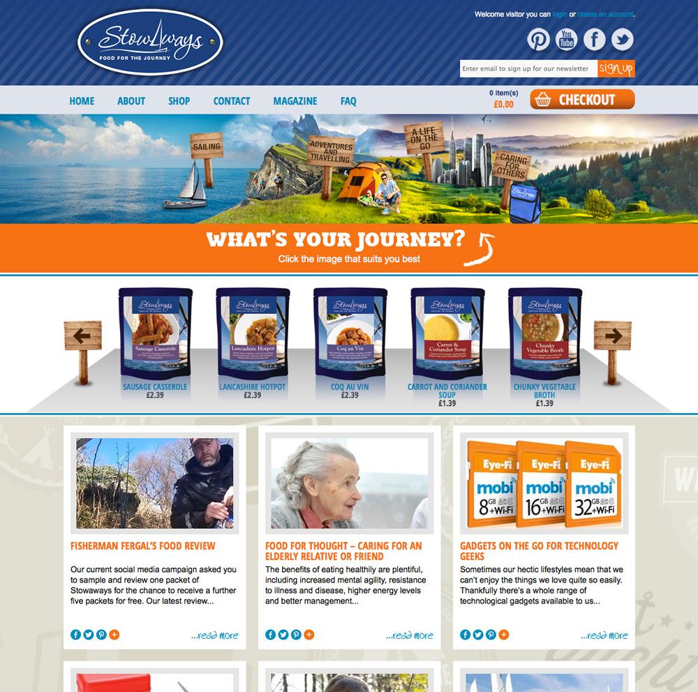 Stowaways Website
