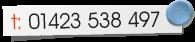 Tel: 01423 538 497