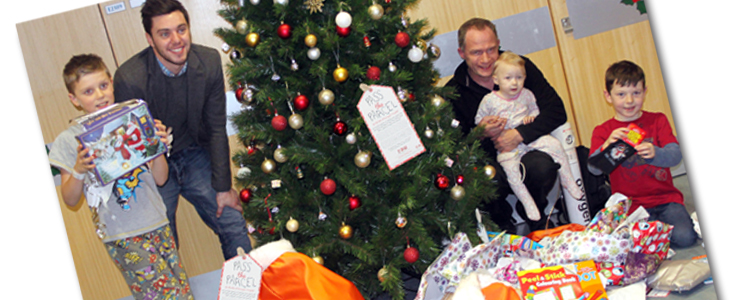 Bringing Christmas to the Kids of Harrogate Hospital