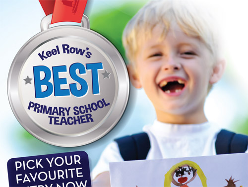 Shopping Centre Community Engagement: 'Keel Row's Favourite Primary Teacher Art Competition'