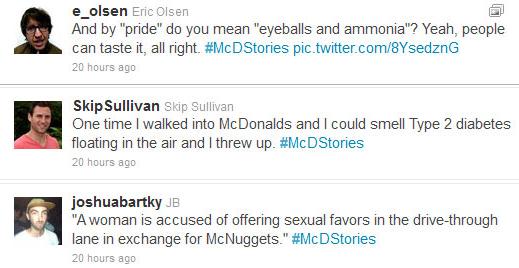 McDonalds story