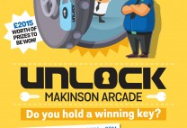 Unlock Makinson Arcade – The Galleries Shopping Centre, Wigan