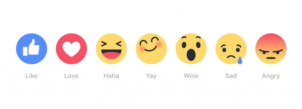 Everything we know so far about Facebook's new reactions