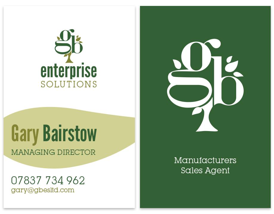 GB Enterprises business cards